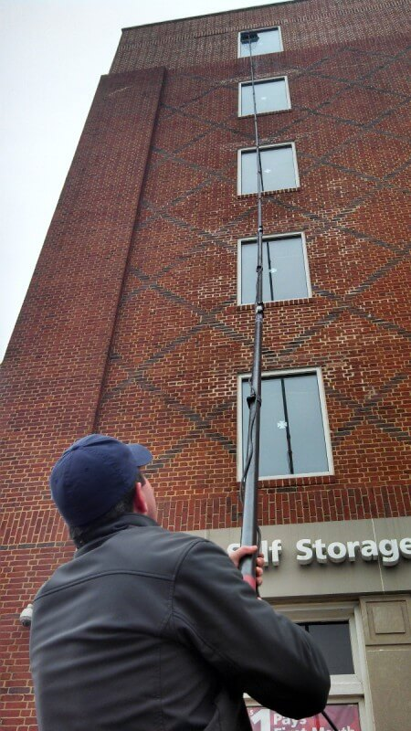 Exceptionnel Projects U2013 Window Cleaning For EZStorage Charles Village U2013 Baltimore  Maryland